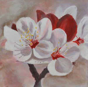 Spring Flowers 2 18x18
